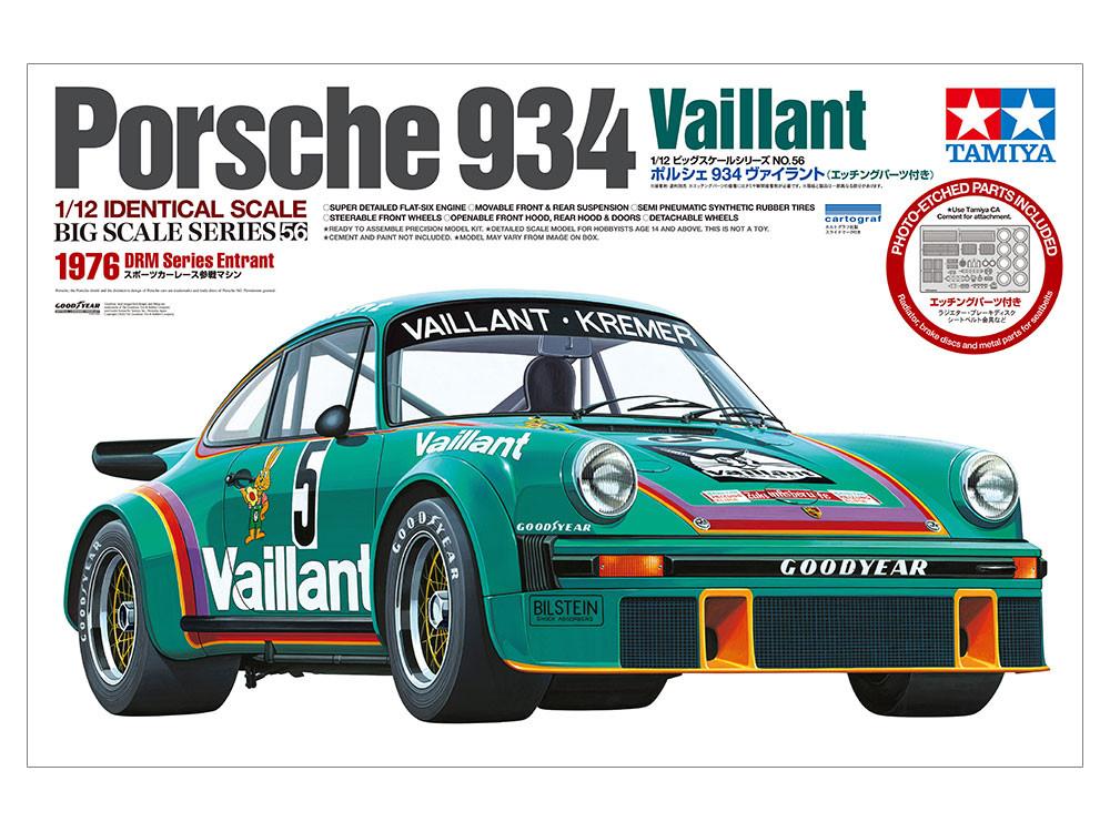 Náhľad produktu - 1:12 Porsche 934, Vaillant