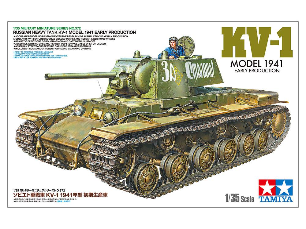 1:35 KV-1, 1941 (Early)