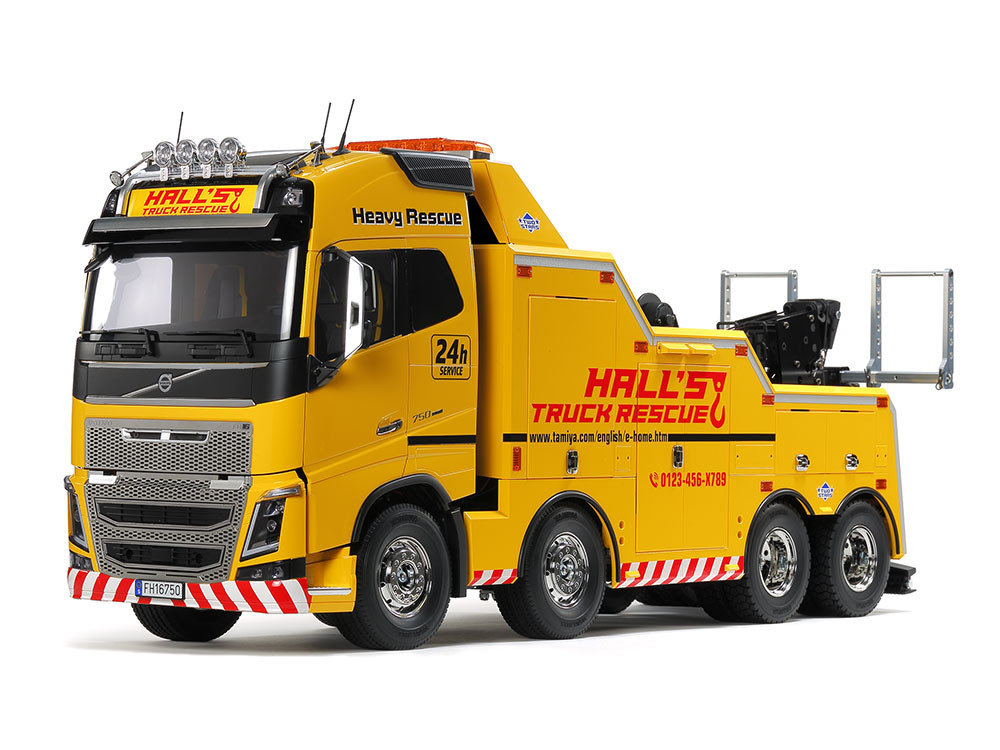 1:14 Volvo FH16 Globetrotter 750 8×4 Tow Truck (stavebnice)