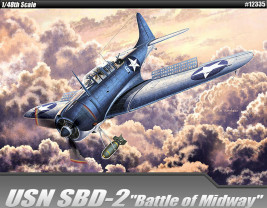"1:48 Douglas SBD-2 ""Battle of Midway"""