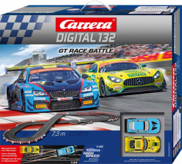 Autodráha Carrera Digital 132 – GT Race Battle