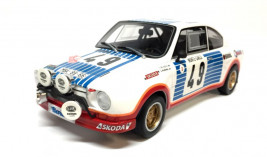 1:18 Škoda 130 RS No.49, Rally Monte-Carlo 1977