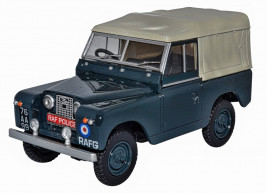 1:43 Land Rover Series II SWB Canvas RAF Police