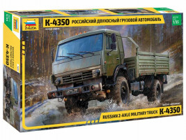 1:35 Russian 2 Axle Military Truck K-4326