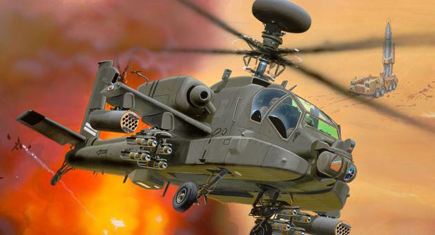 View Product - 1:144 AH-64D Longbow Apache