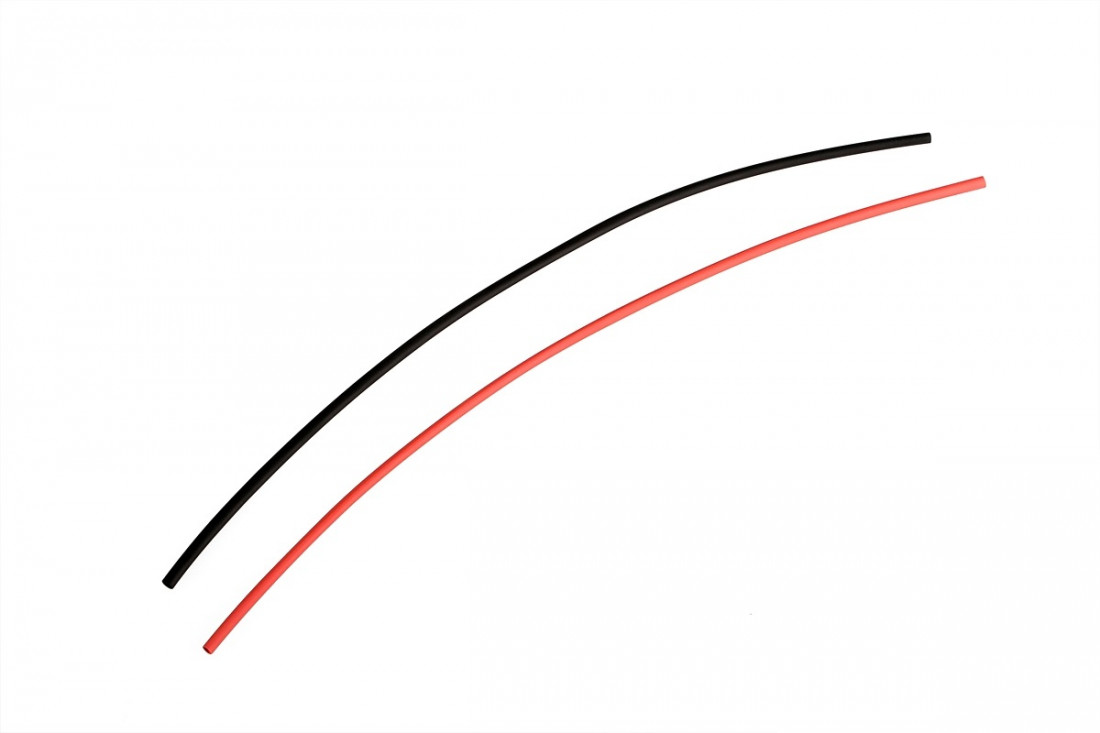 View Product - Heat shrink tubing black / red at 2.5 mm connectors
