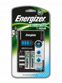 ENERGIZER BATTERY CHARGER 1 HOUR + 2xAA 2300mAh