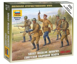 1:72 Soviet Regular Infantry (1941-1942)