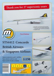 Concorde British Airways & Singapur - Ausschnitt