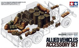 1:35 Allieed Vehicles Accessory Set