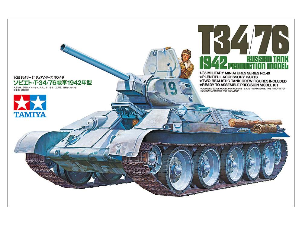 Náhľad produktu - 1:35 T34/76